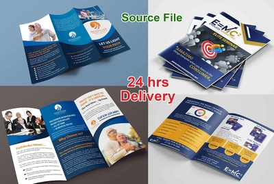 Design professional flyer , poster , leaflet or brochure design