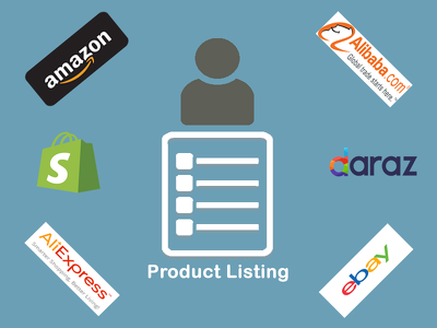 Do 500 products listing from amazon, alibaba ebay or other site