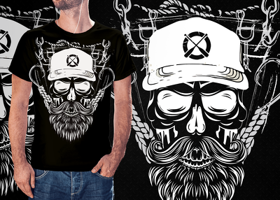 create original custom and amazing merch t shirt design