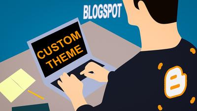 Customize Google Blogger Theme For Blogspot website