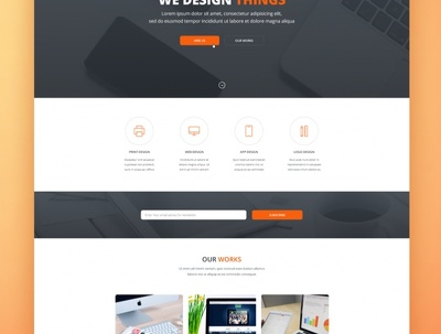 Design a PSD Template