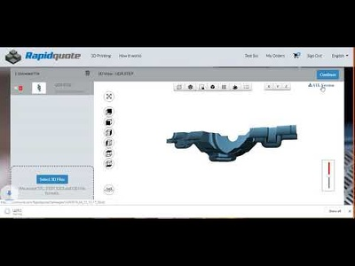 Integrate an online quotation system for 3D Printing services