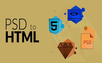 Convert psd  to HTML5 ,CSS3  responsive layout using bootstrap.