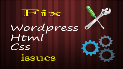 Fix wordpress bugs and resolve css, html issues