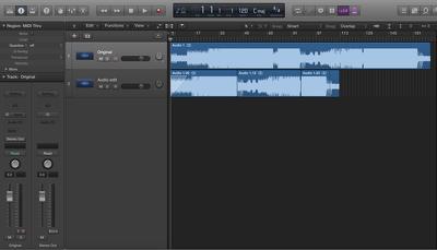 Edit your audio