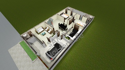 Design high quality 3D architectural floor plan