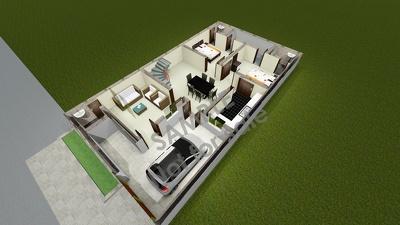 Design high quality 3D architectural floor plan