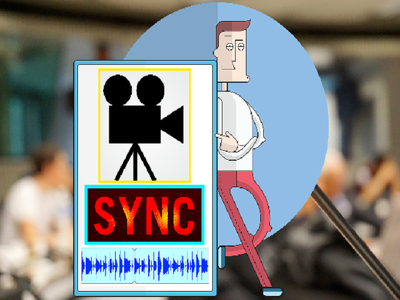 Sync PowerPoint slide or video with your audio