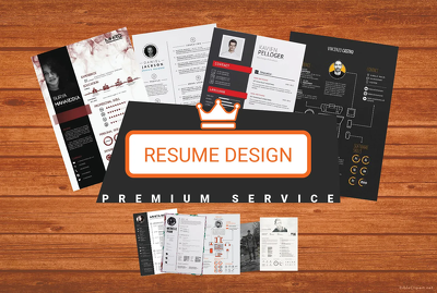 Design A Killer Info-graphic Resume CV Design