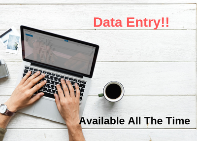 Virtual assistant data entry 1 hours