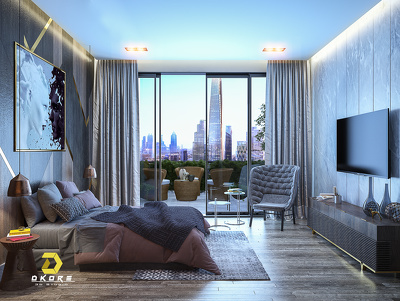 make photo realistic interior renders like bedroom living etc...