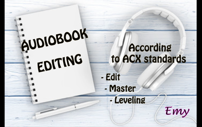 Edit your audiobook for acx