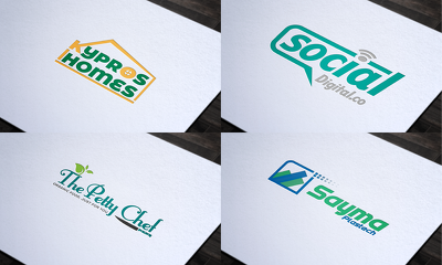 Design 2 exceptional logos + Vector Files + Free Revisions