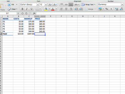 Type 3,000 words/numbers into a spreadsheet