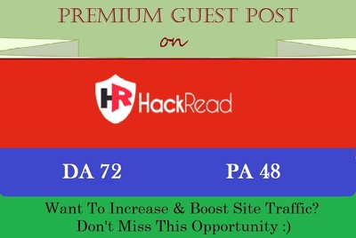 Submit An HQ Technology Guest Post on Hackread.com - DA 72