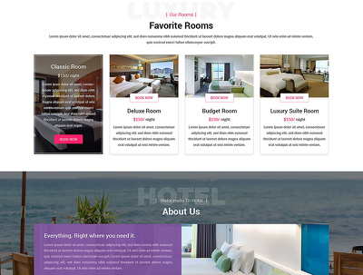 Design home page of your website