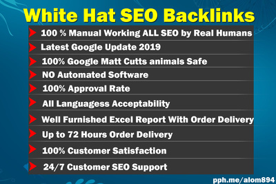 UK SPECIFIC White Hat SEO Backlinks Improve Your Ranking 2019