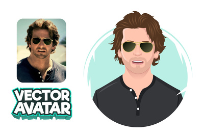 Design A Flat Avatar Or Cartoon Portrait Of Your Photo