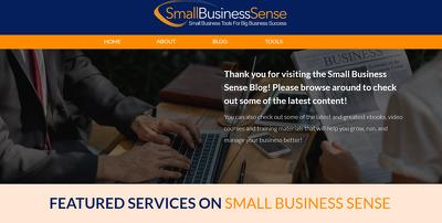 Guest Post On Small Business Sense - Small-Bizsense.com DA46,
