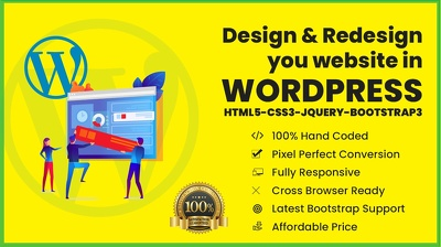 Design response Wordpress website Mobile friendly