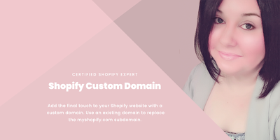 ☆ Custom domain added to your Shopify website