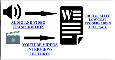 Do audio and video transcription in just 24 hours