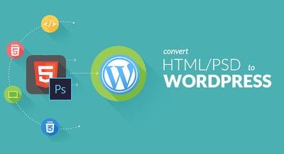PSD to Wordpress (CMS) or HTML to Wordpress (CMS)