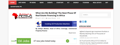 Guest post on Africabusiness.com finance / business DA52 TF25