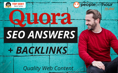 ★ Write 15 high quality QUORA ANSWERS + BACKLINKS to your site★