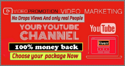 Do Fast Organic and Viral Youtube Promotion For get views