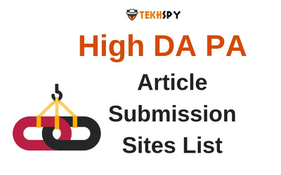 Provide you Guest Posts over DA 40 plus sites