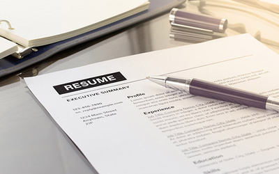 Reformat your CV into your chosen template