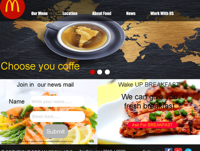 Design a website in photoshop and help you to meke it real site