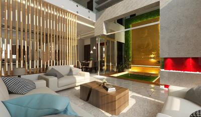 Create a 3D interior render