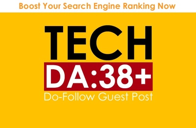 Guest post on High Quality TecH Blog DA 38+ and High Traffic