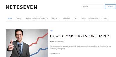 Publish a guest post on Nete Seven - NeteSeven.com - DA40, PA48