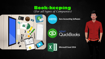 Monthly Bookkeeping Services in QuickBooks, Xero, Excel, etc