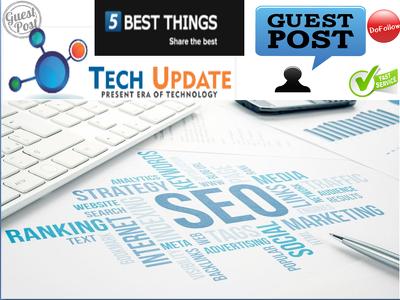 Guest Post On DA43 Website Techinexpert. Techinexpert.com
