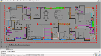Solve/design any 2D Plan in Auto CAD within short time
