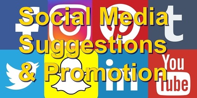 provide Social media suggestions for traffic improvements