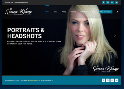 Create a small business start up webste