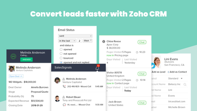 ☆ Zoho CRM Customisation: Convert leads easier and faster