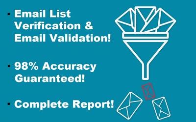Verify 10,000 Email Addresses