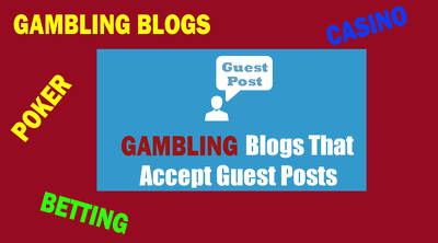 10 Guest Post for Gambling |Casino | Sports | Betting Sites DA40