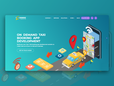 Provide you a on demand taxi application