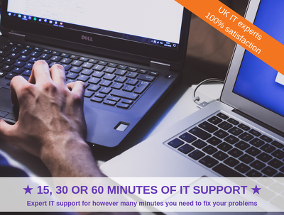 Give you 15 minutes of IT Support
