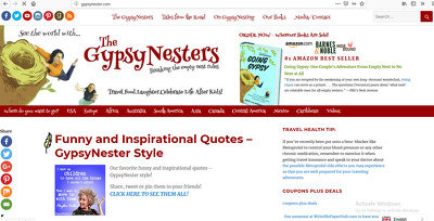 Write and publish a Guest Post on Gypsynester.com - DA50 website