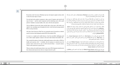 Translate 1000 Words from English Arabic even Medical, Economic.