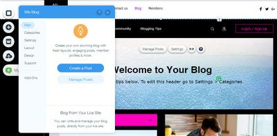 Design custom & dynamic Wix website For you