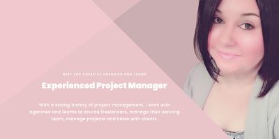 ☆ Expert Project Manager for creative agencies and freelancers